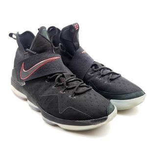 Nike Lebron James 14 XIV Bred University Red shoes